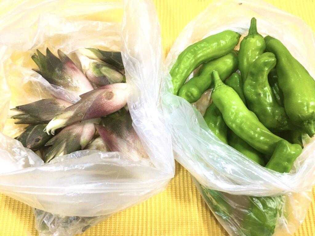 愛情いっぱいの夏野菜